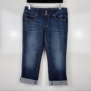 American Eagle Artist Cropped Jeans Sz 8